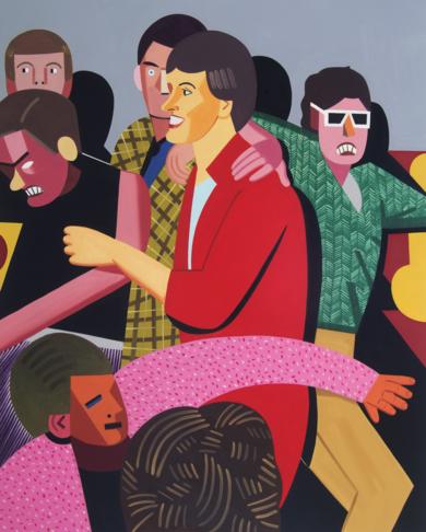 Tipos populares|PinturadeJuan de la Rica| Compra arte en Flecha.es