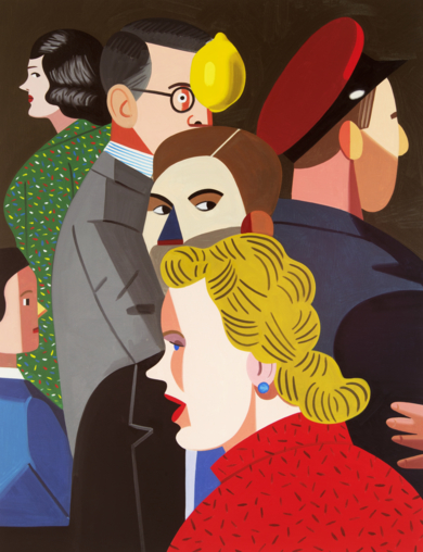 Farsa 3|PinturadeJuan de la Rica| Compra arte en Flecha.es