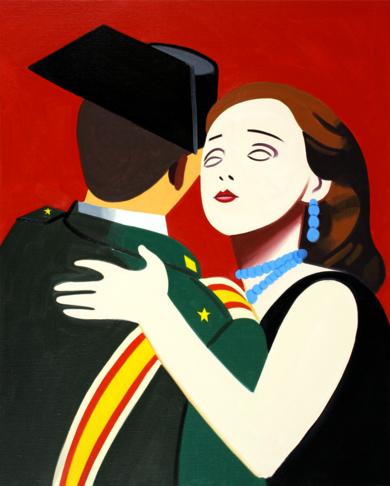 El último vals|PinturadeJuan de la Rica| Compra arte en Flecha.es