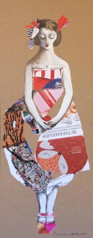 COLLAGE I|CollagedeMenchu Uroz| Compra arte en Flecha.es