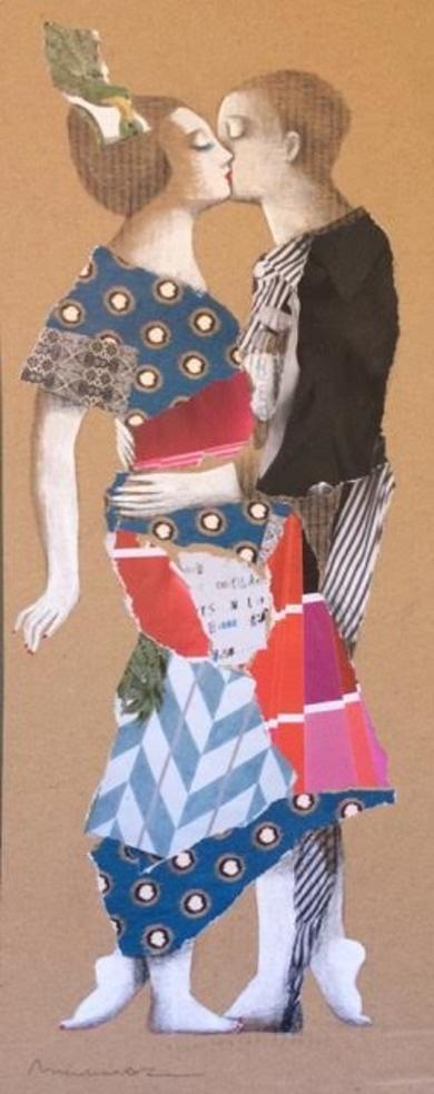 COLLAGE|CollagedeMenchu Uroz| Compra arte en Flecha.es