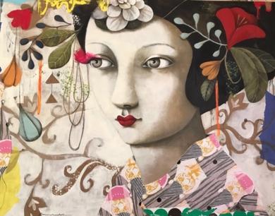 GRAN JARDIN I|PinturadeMenchu Uroz| Compra arte en Flecha.es