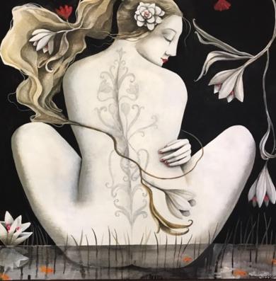 JARDÍN ACUATICO|PinturadeMenchu Uroz| Compra arte en Flecha.es