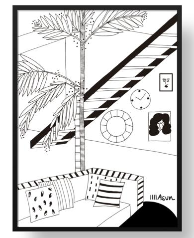Fresquito|DibujodeAsun Navarro Margallo| Compra arte en Flecha.es