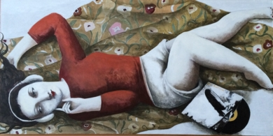 UN RESPIRO|PinturadeMenchu Uroz| Compra arte en Flecha.es