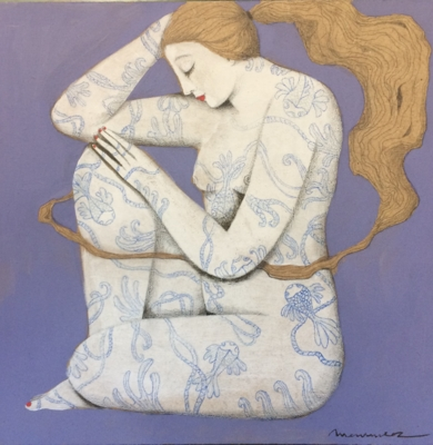 NATURALEZA II|PinturadeMenchu Uroz| Compra arte en Flecha.es