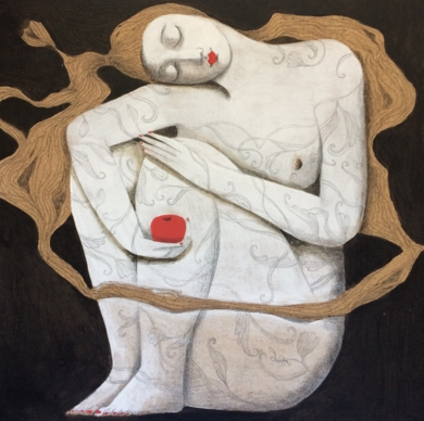 NATURALEZA III|PinturadeMenchu Uroz| Compra arte en Flecha.es