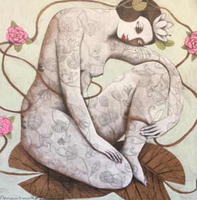 NATURALEZA IV|PinturadeMenchu Uroz| Compra arte en Flecha.es