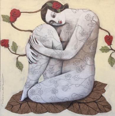 NATURALEZA V|PinturadeMenchu Uroz| Compra arte en Flecha.es