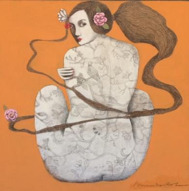 NATURALEZA VI|PinturadeMenchu Uroz| Compra arte en Flecha.es