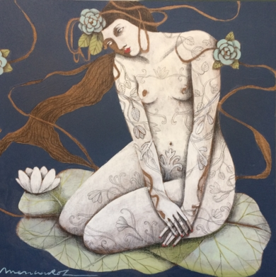 NATURALEZA VII|PinturadeMenchu Uroz| Compra arte en Flecha.es