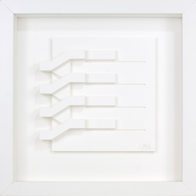 Escalera 06|Escultura de pareddeLuis Pérez Vega| Compra arte en Flecha.es