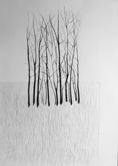 Arboles|CollagedeMilena Mateva| Compra arte en Flecha.es