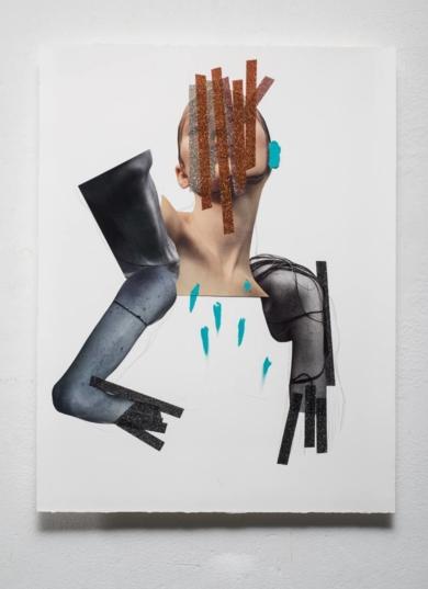 New Purp II|CollagedeMonika Ardila| Compra arte en Flecha.es