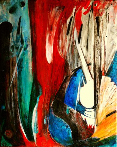 Orgánico|PinturadeLika| Compra arte en Flecha.es