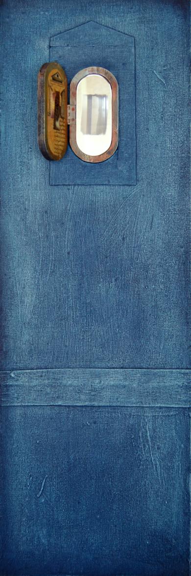 Ventana Azul|CollagedeGabriel Morera| Compra arte en Flecha.es