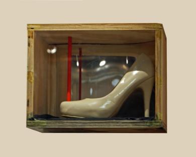 Zapato celestial|CollagedeGabriel Morera| Compra arte en Flecha.es