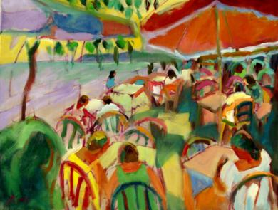 Avellana y limón|PinturadeJosé Bautista| Compra arte en Flecha.es