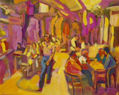 Tónica de guaraná|PinturadeJosé Bautista| Compra arte en Flecha.es
