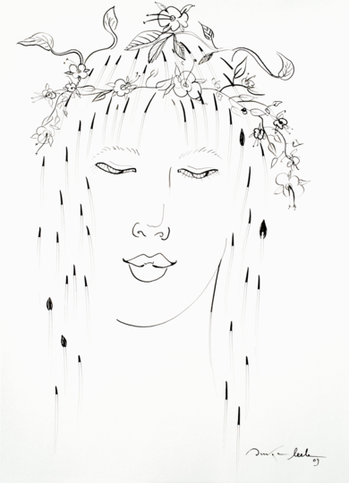 Ninfa 2|DibujodeOuka Leele| Compra arte en Flecha.es