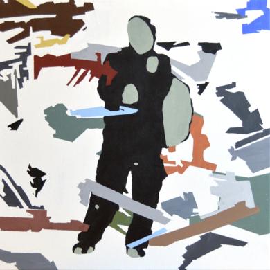 RESILIENTE_01_026|PinturadeJosé Luis Albués| Compra arte en Flecha.es
