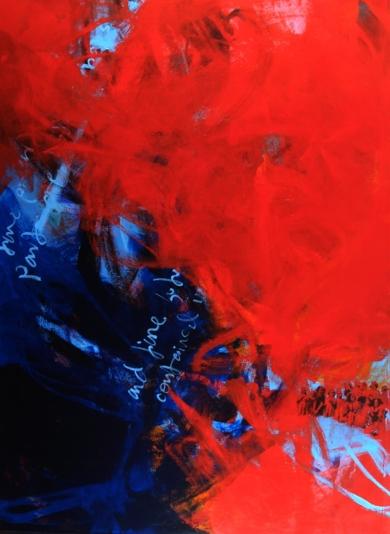 Mientras anochece|PinturadeDilsa Jimenez| Compra arte en Flecha.es