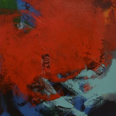 Charlie|PinturadeDilsa Jimenez| Compra arte en Flecha.es