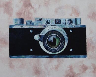 Cámara Leitz Elmar|PinturadeMiguel Ortega Mesa| Compra arte en Flecha.es