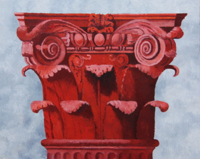Corintio Rojo II|PinturadeMiguel Ortega Mesa| Compra arte en Flecha.es