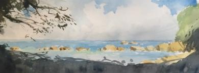 Cala|PinturadeIñigo Lizarraga| Compra arte en Flecha.es