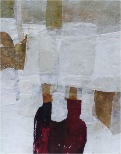 """LA SOMBRA ROJA""|CollagedeJulia Fragua| Compra arte en Flecha.es"