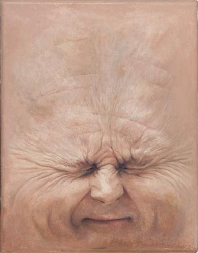 Trozos de Carne: Trichet|PinturadeErick Miraval| Compra arte en Flecha.es