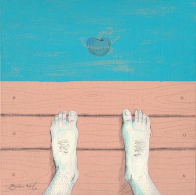Muelle|IlustracióndeBran Sólo| Compra arte en Flecha.es