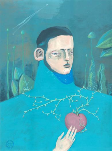 Trepador [Original]|IlustracióndeBran Sólo| Compra arte en Flecha.es