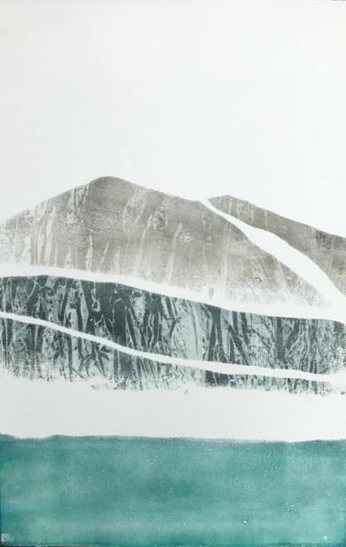 Montañas 5|PinturadeMilena Mateva| Compra arte en Flecha.es