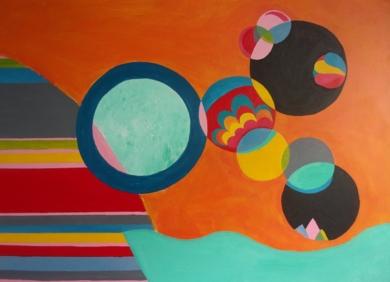 Globo|PinturadeANALIA MALOSETTI| Compra arte en Flecha.es