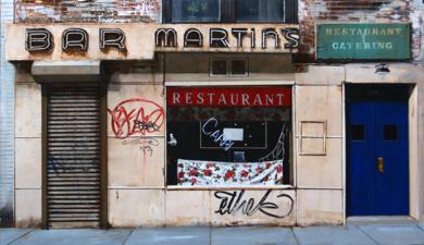 BAR  MARTINS|PinturadeSaid Rajabi| Compra arte en Flecha.es