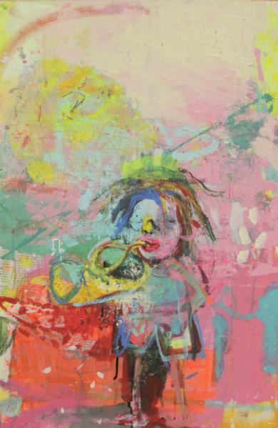3/3 Tríptico Jazz|PinturadeDaninuñez| Compra arte en Flecha.es