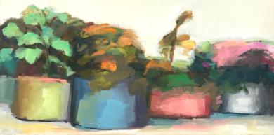 Lugares y Jardines Imaginarios XIII|PinturadeTeresa Muñoz| Compra arte en Flecha.es