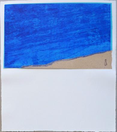 Qué grande el mar|Obra gráficadeAna Valenciano| Compra arte en Flecha.es