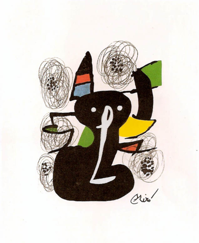 LA MELODÍA ÁCIDA (II) 1214|Obra gráficadeJoan Miró| Compra arte en Flecha.es
