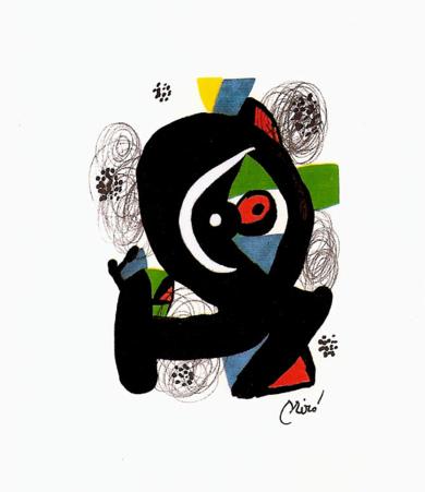 LA MELODÍA ÁCIDA (III) 1213|Obra gráficadeJoan Miró| Compra arte en Flecha.es