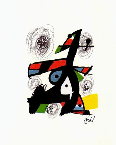 LA MELODÍA ÁCIDA (V) 1216|Obra gráficadeJoan Miró| Compra arte en Flecha.es