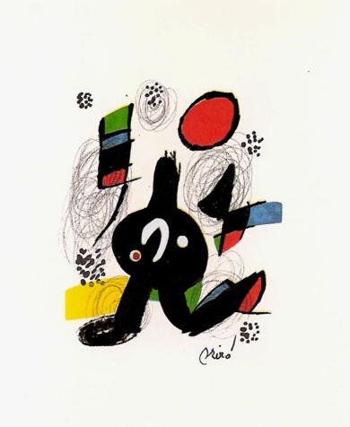 LA MELODÍA ÁCIDA (VII) 1218|Obra gráficadeJoan Miró| Compra arte en Flecha.es