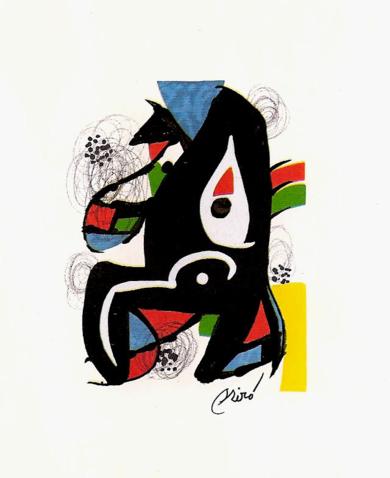 LA MELODÍA ÁCIDA (X) 1221|Obra gráficadeJoan Miró| Compra arte en Flecha.es