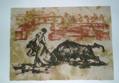 TaurinoII|Obra gráficadeCarmina Palencia| Compra arte en Flecha.es