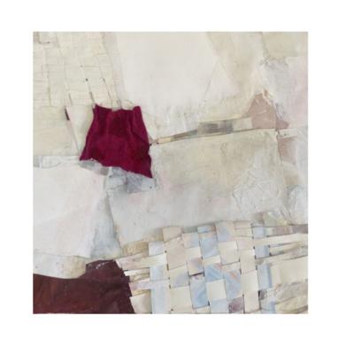 """PAÑO ROJO""|CollagedeJulia Fragua| Compra arte en Flecha.es"
