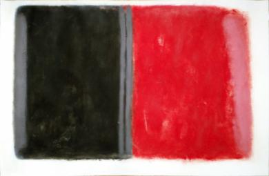 Red and black II|PinturadeLuis Medina| Compra arte en Flecha.es