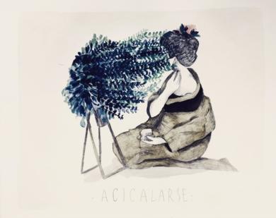 ACICALARSE|CollagedeJaume Mora| Compra arte en Flecha.es