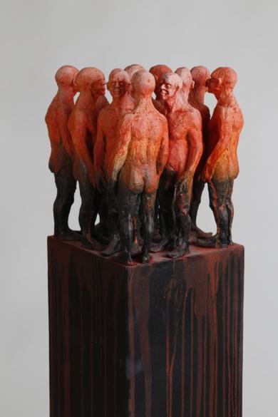 La cita de las lucirénagas|EsculturadeReula| Compra arte en Flecha.es